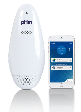 pHin Smart Water Care Monitor and App